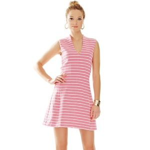 Lilly Pulitzer Briana Fit & Flare Pink Dress XL